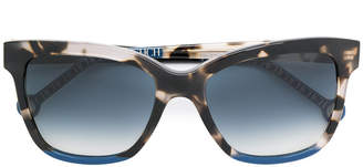 Carolina Herrera Ch tortoiseshell squared sunglasses