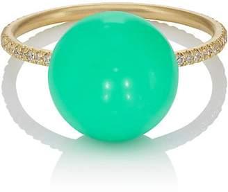 Irene Neuwirth Women's Chrysoprase Sphere Ring