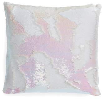 Iridescent Sequin Accent Pillow