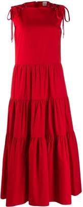 RED Valentino tiered skirt dress