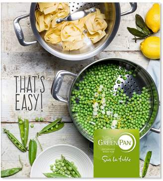 Green Pan for Sur La Table Thats Easy Cookbook