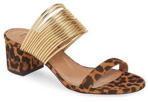Aquazzura Rendez Vous Slide Sandal