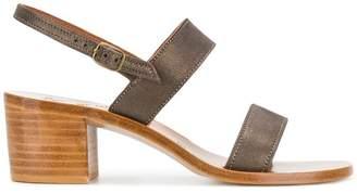 K. Jacques slingback sandals