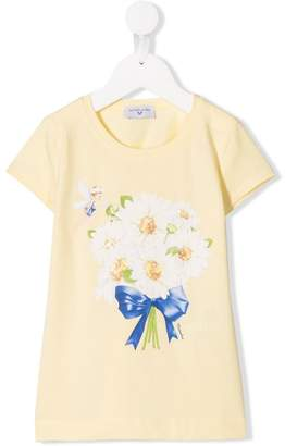MonnaLisa daisy print T-shirt