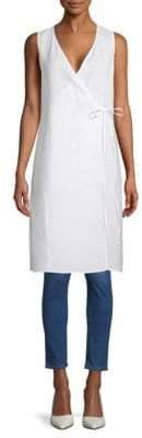 Eileen Fisher Organic Linen Wrap Top