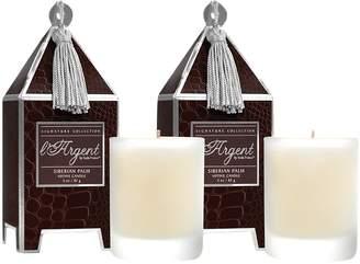 Seda France Siberian Palm Mini Pagoda Candle Gift Set