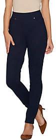 Martha Stewart Regular Ponte Knit Pull-OnAnkle Pants