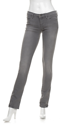 Ksubi Super Skinny Ankle Zip Jeans: Grey Wash