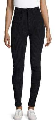 Sandro Striped Super Skinny-Fit Jeans
