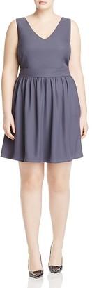 JUNAROSE Cecilia V-Neck Dress $89 thestylecure.com