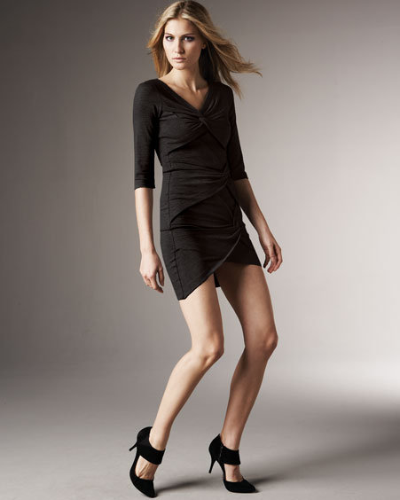 Robert Rodriguez Twist-Knot Dress