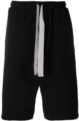 Alchemy drawstring knee-length shorts