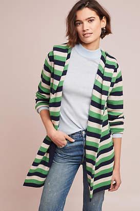 Field Flower Regina Striped Sweater Coat
