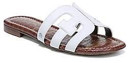 Sam Edelman Women's Bay Leather Flat Sandals