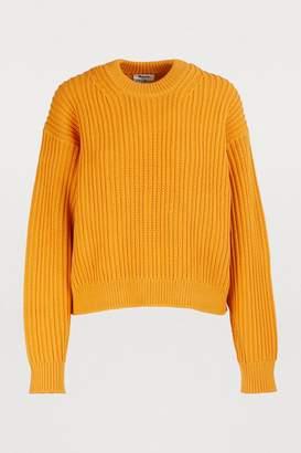 Acne Studios Oversized chunky knit sweater