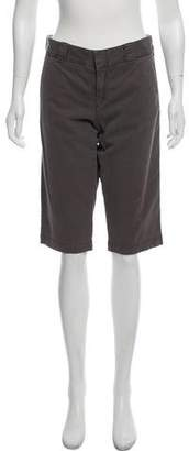 Vince Mid-Rise Knee-Length Shorts