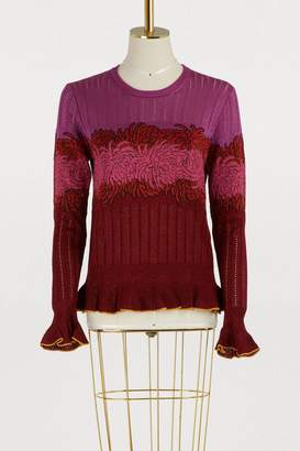 Marco De Vincenzo Crew neck lurex sweater