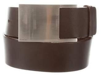 Gucci Leather Wide Belt