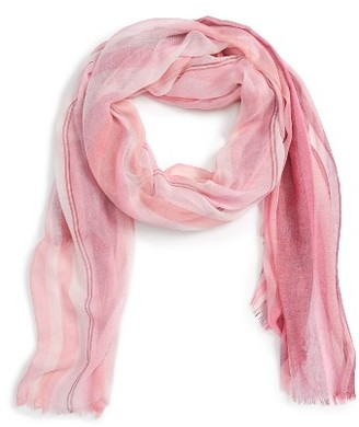 Women's Nordstrom Ombre Stripe Scarf $39 thestylecure.com