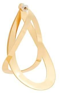 Charlotte Chesnais Endless Gold Plated Single Earring - Womens - Gold