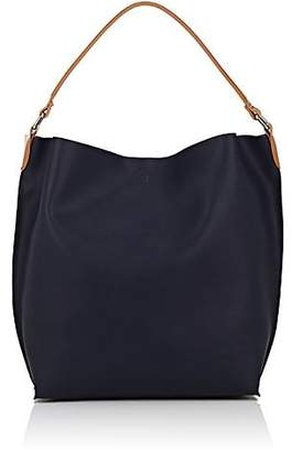 Barneys New York WOMEN'S ANN HOBO BAG - NAVY