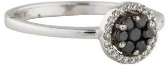Bony Levy 18K Diamond Flower Stackable Ring