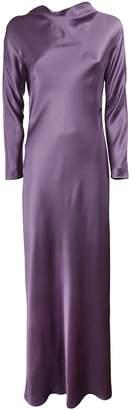 Alberta Ferretti Long Flared Dress