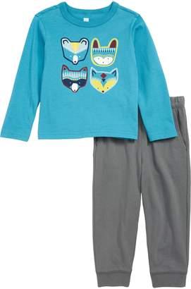 Tea Collection Critters T-Shirt & Sweatpants Set