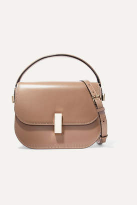 Valextra Iside Leather Shoulder Bag - Taupe