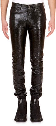 Givenchy Men's Formal Lamb Leather Trousers