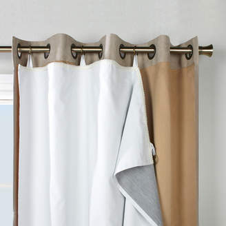 Alcott Hill Dorset Solid Max Blackout Thermal Single Curtain Liner