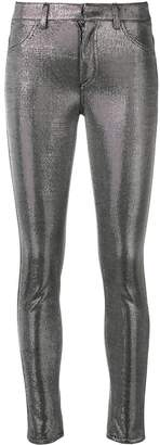 Dondup metallic trousers
