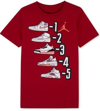 Jordan Graphic-Print Cotton T-Shirt, Toddler & Little Boys (2T-7) $18 thestylecure.com