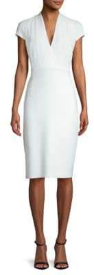 Elie Tahari Gerarda Crepe Sheath Dress