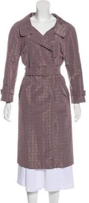 Prada Silk-Blend Matelassé Coat