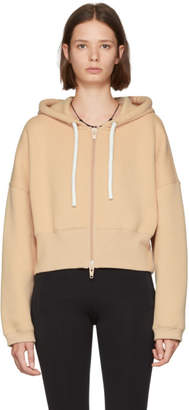 Alexander Wang Pink French Terry Hoodie