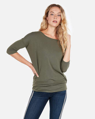 Express One Eleven Banded Crew Neck London Tee