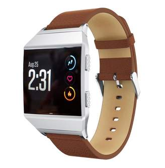 Fitbit GreatTry Hot Sale For Ionic Watchband,Replacemen Leather Accessory Band Bracelet Watchband Strap for Smart Watch