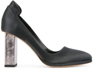 Ginger & Smart glitch heel pumps