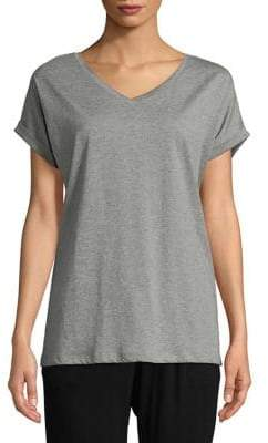 Lord & Taylor Boxy Cotton Tee