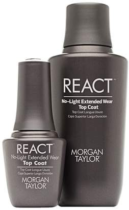 Morgan & Taylor Morgan Taylor react top coat professional kit, 1 Count