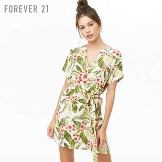 Forever 21 (フォーエバー 21) - Forever 21 トロピカルフラワーワンピース