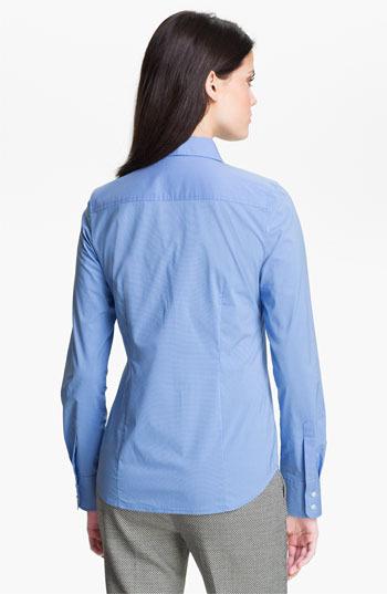 Halogen Poplin Shirt (Regular & Petite)