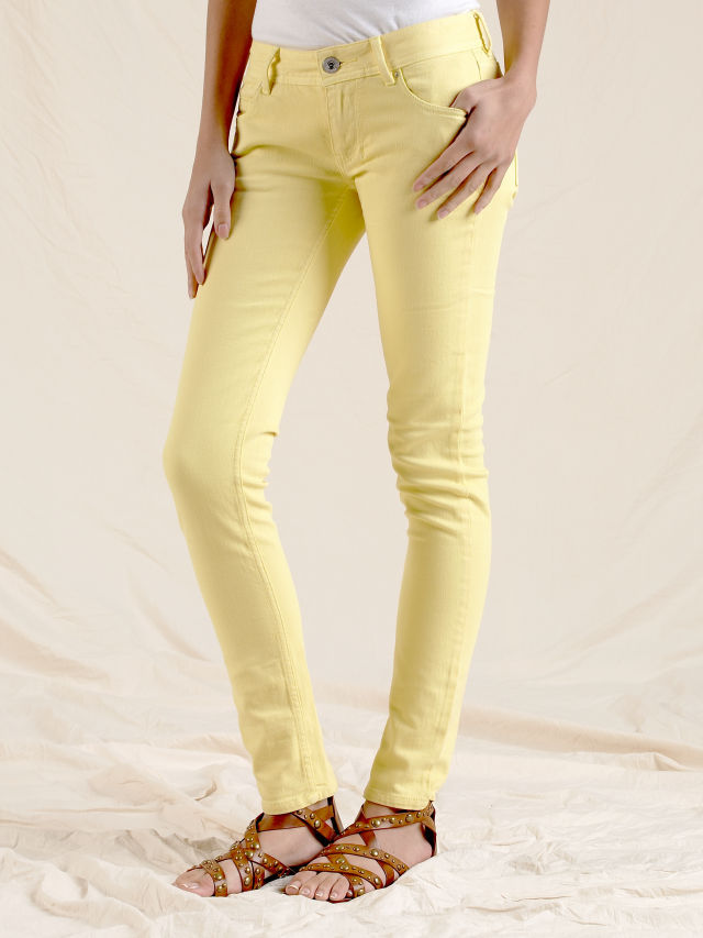 Minnie Skinny Lemon Jeans