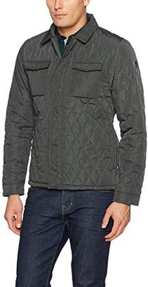 Scotch & Soda Men's Quilted Shirt Jacket