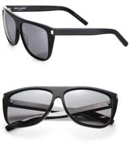 Saint Laurent SL1 59MM Oversized Flattop Unisex Sunglasses