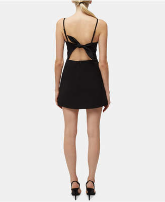 French Connection Sweetheart Tie-Back Dress