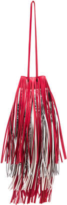 Calvin Klein Short Fringe Bucket Bag