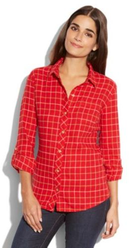 Lucky Brand Dottie Red Flannel