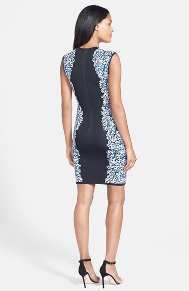 BCBGMAXAZRIA 'Elena' Sleeveless Body-Con Sweater Dress